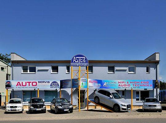 Služby pre všetky značky áut
